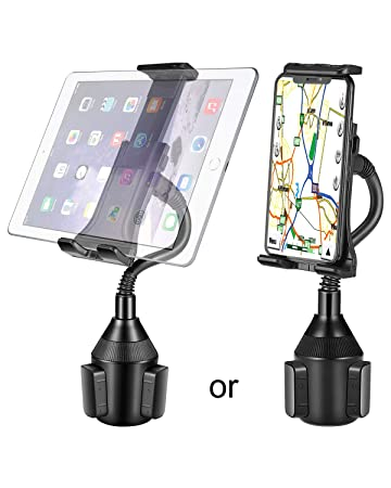 Lorima Cup Holder Tablet Mount - Universal Adjustable Portable Cup Phone  Holder with a Long Flexible Neck for iPad Pro 10 5/Air/Mini, Samsung Galaxy