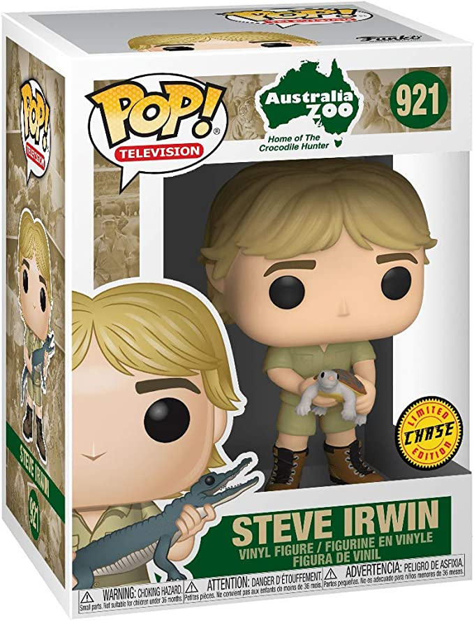 Steve Irwin with Snake Exclusive Crocodile Hunter #950 Television Funko POP
