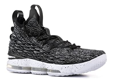 009306b21651 ... where to buy nike lebron xv ashes basketball shoes lebron james black  white white new 897648