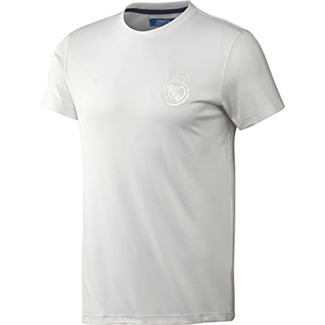 Adidas Originals Men s Real Madrid Retro Camiseta, White, XS, z35212