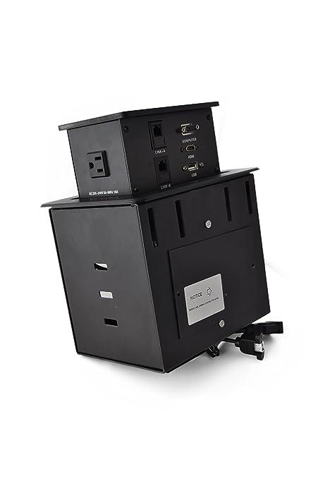 Amazoncom Yolkvisual Conference Table Connectivity Box HDMI - Table connectivity box