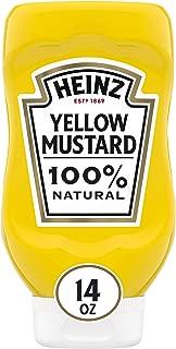 product image for Heinz Yellow Mustard, 14 oz