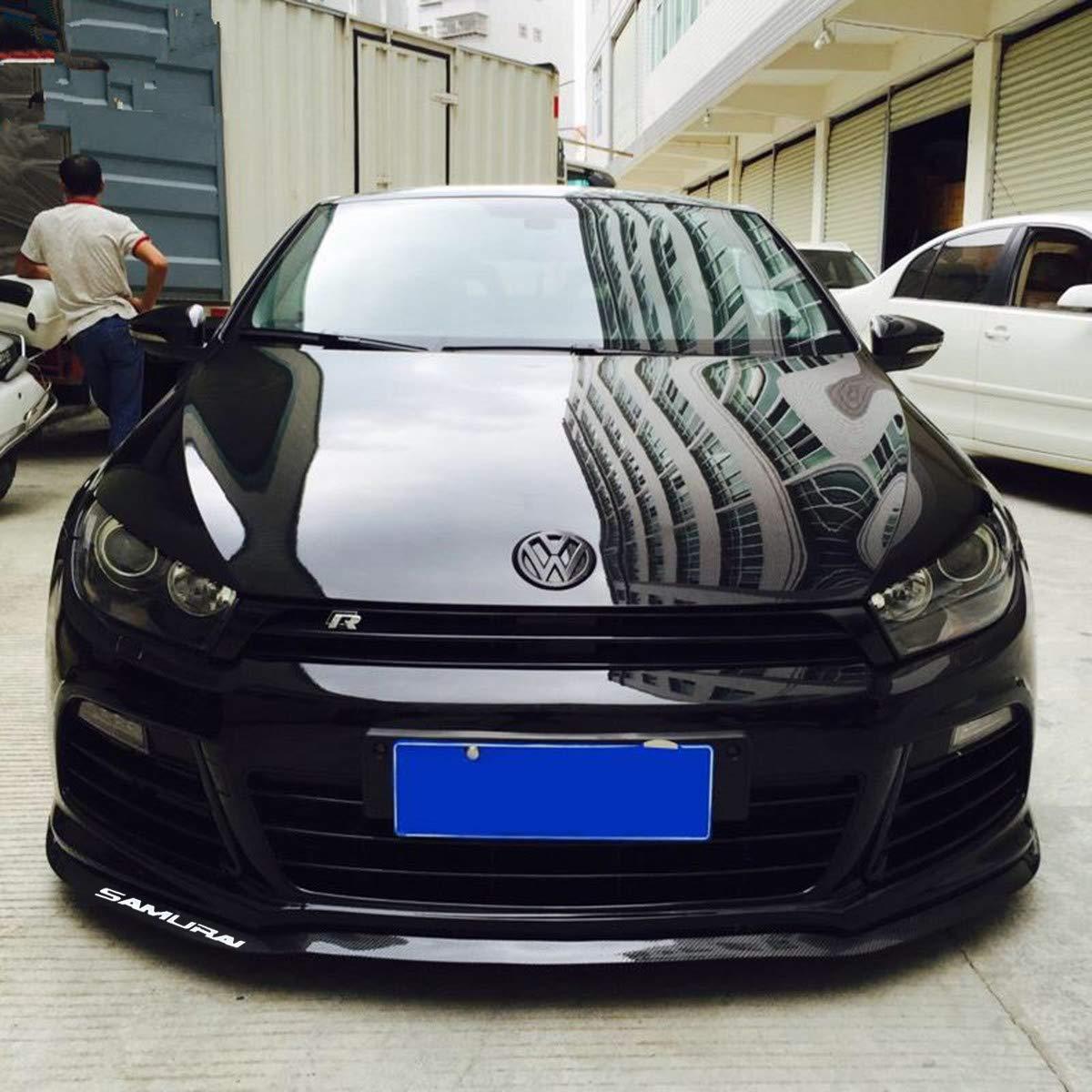 Side Skirt Front Lip front lip spoiler 100/% waterproof protection Carbon black HengJia Auto Parts 2.5m//8.2ft Car carbon fiber front lip,Front Bumper Lip Carbon Lip