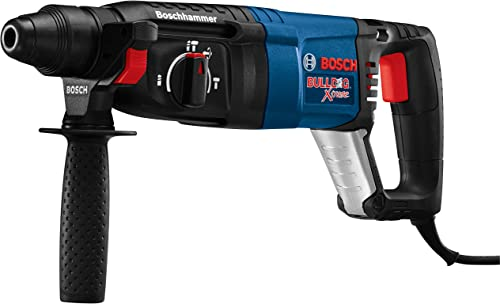 Bosch 11255VSR Bulldog Xtreme – 8 Amp 1 Inch Corded Variable Speed Sds-Plus Concrete Masonry Rotary Hammer Power Drill with Carrying Case
