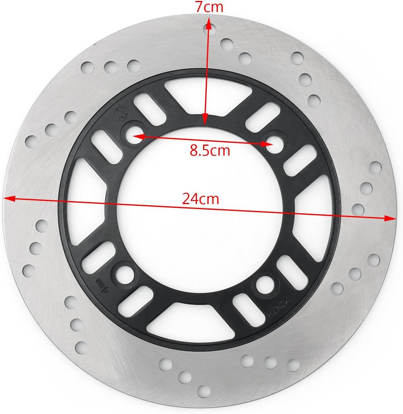 Topteng Rear Disc Brake Rotor for Kawasa-ki ZR550 B2-B6 91-98 ZZR600 E1-E13 ZX600 91-07