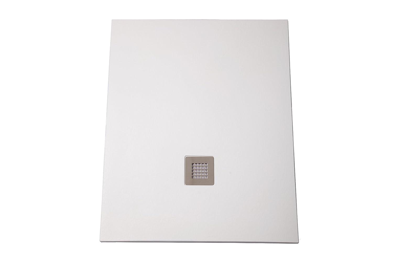 75X130 Bianco SILEX-Piatto Doccia Extra Piatto Bianco Ral 9003 Taglia Colore