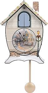 Thomas Kinkade Sound Cuckoo Clock