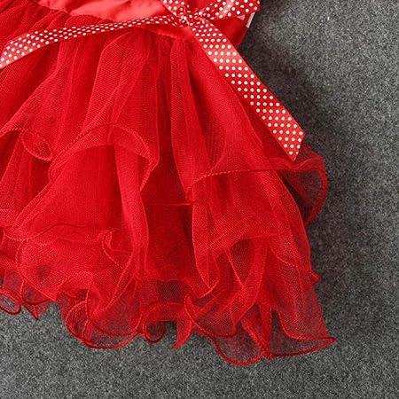 abcone bebé Chico Las recién navideña falda de Lazo de encaje de ...