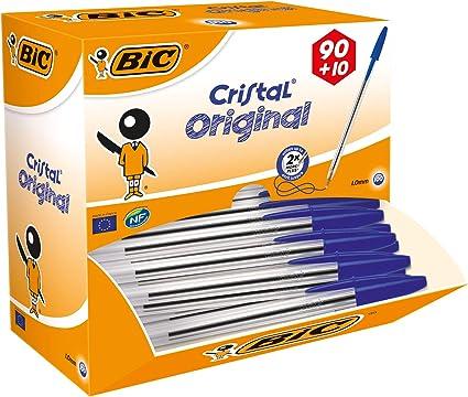 BiC Cristal medium - Bolígrafo de punta redonda, color ...