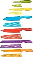 AmazonBasics - Juego de cuchillos de colores
