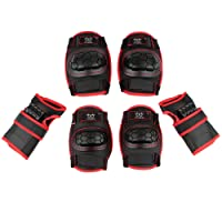 Skyrocket Boys Girls Childs Roller Skating Skateboard BMX Scooter Cycling Protective Gear Pads (Knee pads+Elbow pads+wrist pads)