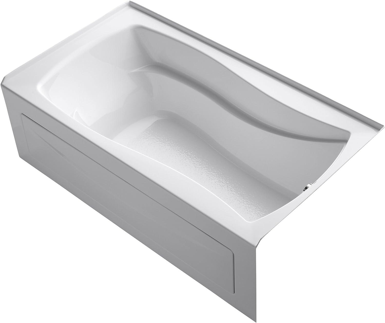 KOHLER 1229-RA-0 Mariposa Bathtub, White
