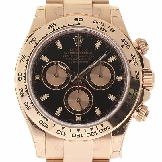 Rolex Daytona Swiss-Automatic 116505 - Reloj de Pulsera (Certificado de autenticidad)
