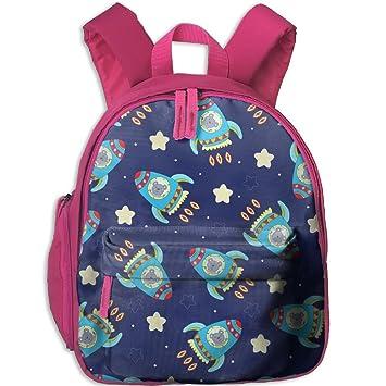 Mochila, mochila escolar para niños y niñas, bonita mochila de lona para bebé, diseño de rocas: Amazon.es: Hogar