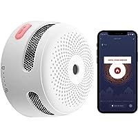 X-Sense Wi-Fi Smoke Detector, Wireless Smart Fire Smoke Alarm with Replaceable Lithium Battery & Silence Button, Auto…