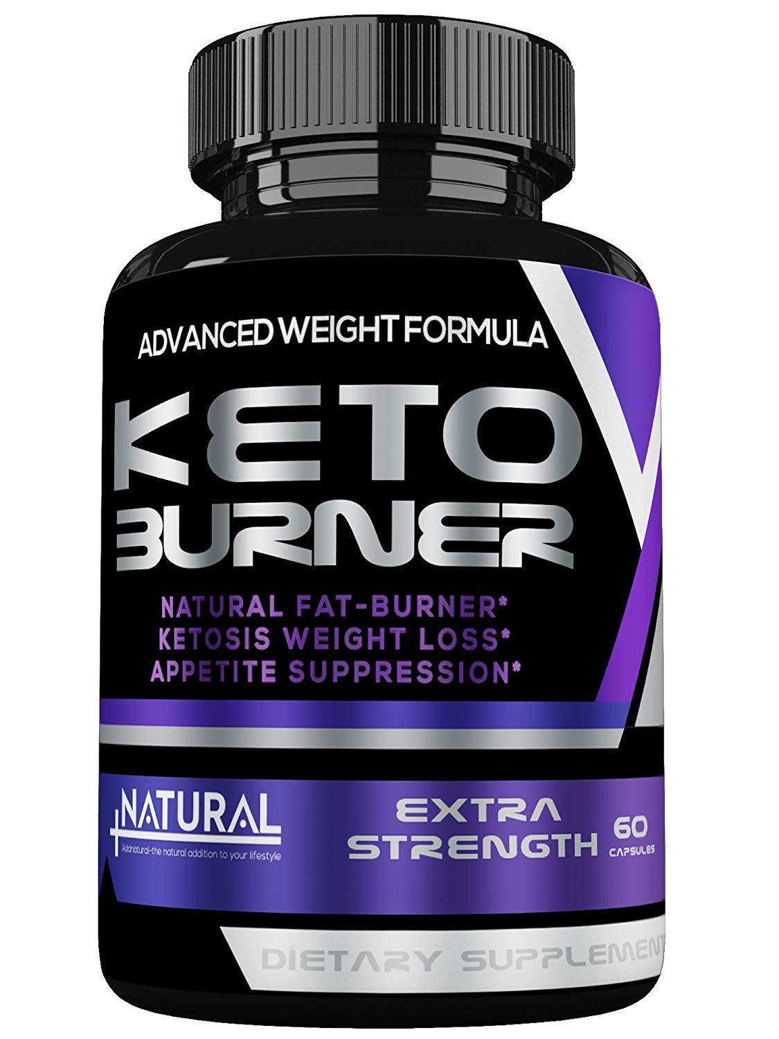 Thermogenic Keto Fat Burners for Men/Women - Best Keto Diet Weight Loss Pills - Appetite Suppressant- Burns Fat Fast - Metabolism/Energy Booster by Addnatural