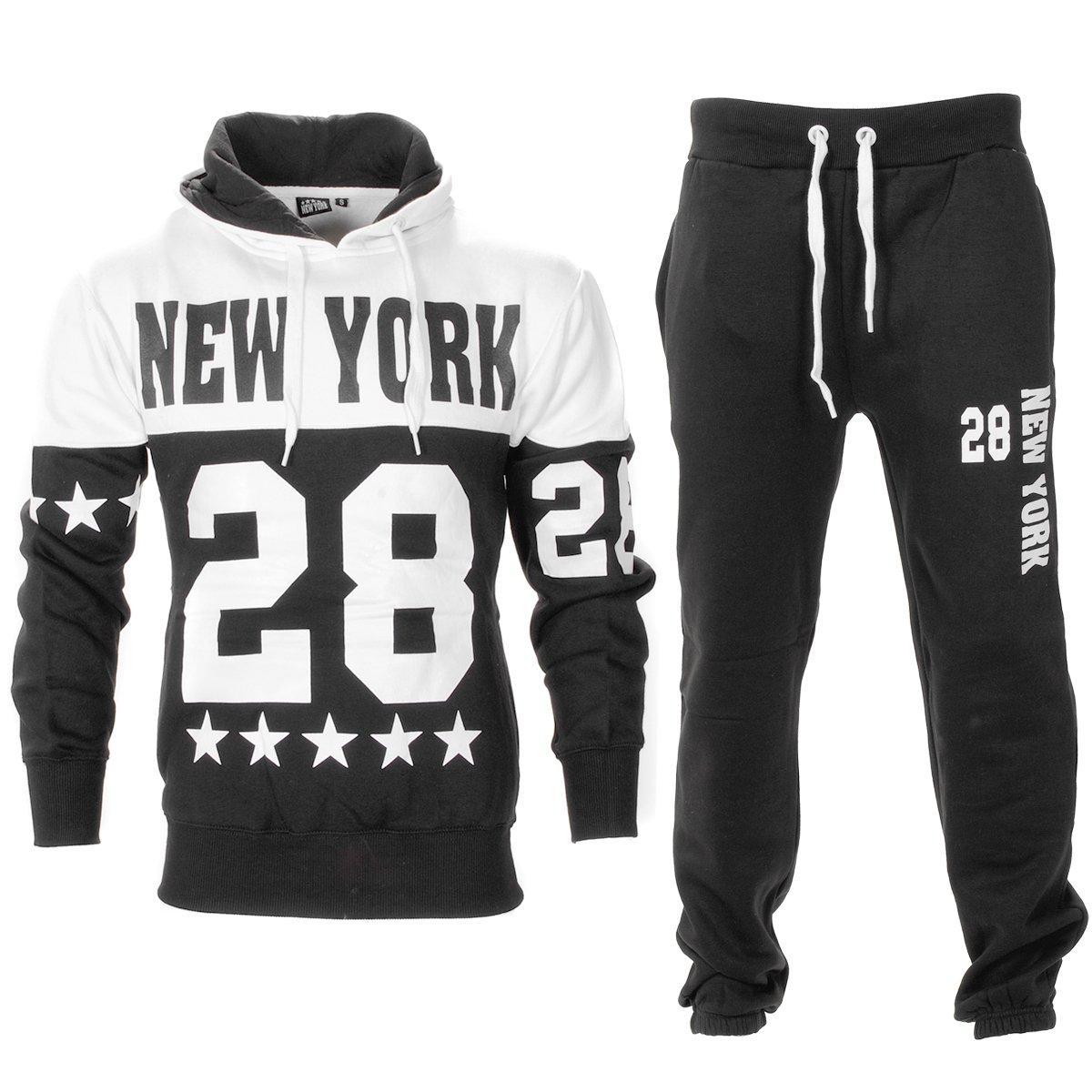NEW MEN/'S RAIKEN BLACK//GREY JOGGING PANTS S M L XL