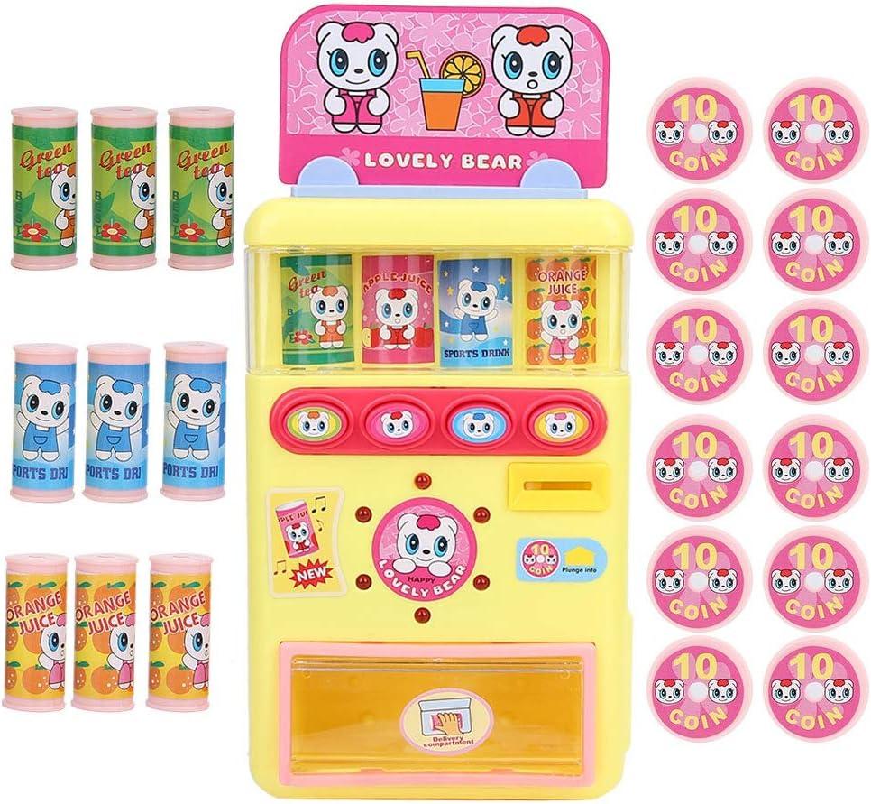 VGEBY1 Juguetes de Juegos de Compras, máquinas expendedoras Juguetes máquinas de Bebidas electrónicas para niños