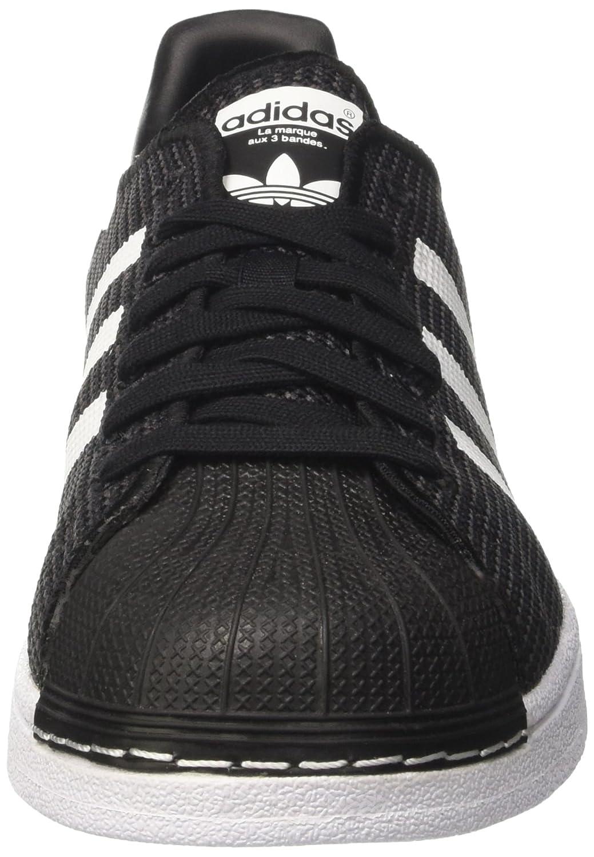 Adidas Superstar J CQ2688 Unisex - Kinder Sneakers/Freizeitschuhe / Low-Top Sneakers Schwarz (Core Black/Footwear White/Footwear White)