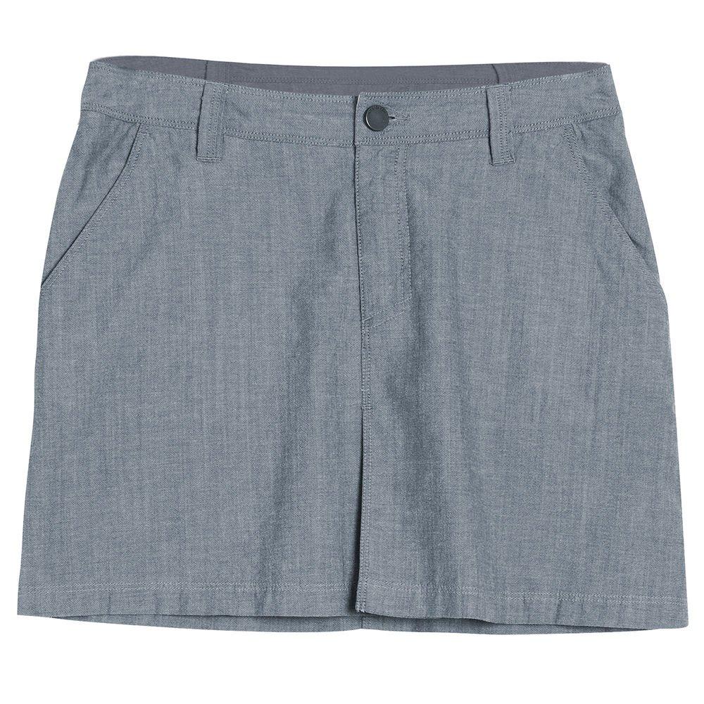 Icebreaker Women's Destiny Skirt, Fathom Heather, Size 30