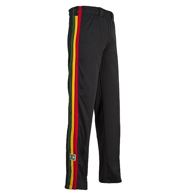 Unisex Reggae Negro Brasil Capoeira Artes Marciales Abada Elástico  Pantalones 5 Tallas  Amazon.es  Ropa y accesorios f3a7d94a226a