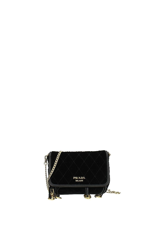 Prada Mochilas & Riñoneras Mujer - Velvet (1BL003NERO): Amazon.es: Zapatos y complementos