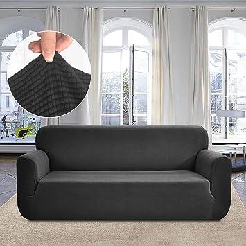 Amazon Com Rose Home Fashion Rhf Jacquard Stretch Sofa Cover