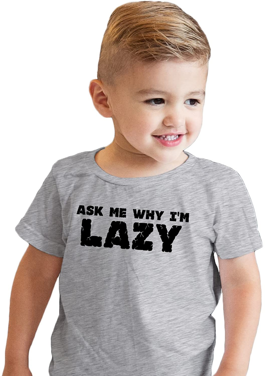Crazy Dog T-Shirts Youth Ask Me About Squatch T Shirt Funny Sarcastic Bigfoot Flip Tee for Kids