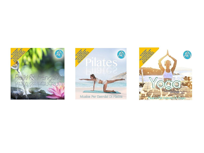 Oferta especial 3 Cd Doppio Della Serie Wellness Relax, Reiki e Feng Shui, Pilates, Yoga Musica Rilassante Special offer Series Wellness Reiki and ...