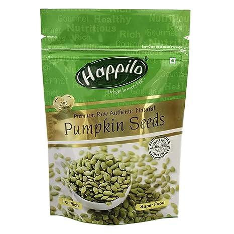 HappiloPremium Raw Authentic Pumpkin Seeds, 200g