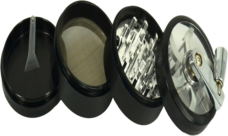Mill Grinder Aluminium Diamond Teeth Grinder Herb Grinder Rotary System