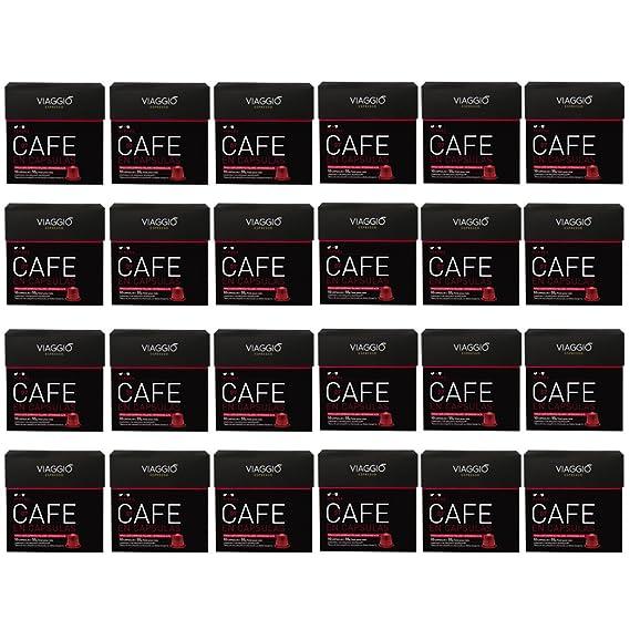 VIAGGIO ESPRESSO - 240 Cápsulas de Café Compatibles con Máquinas Nespresso - VERONA