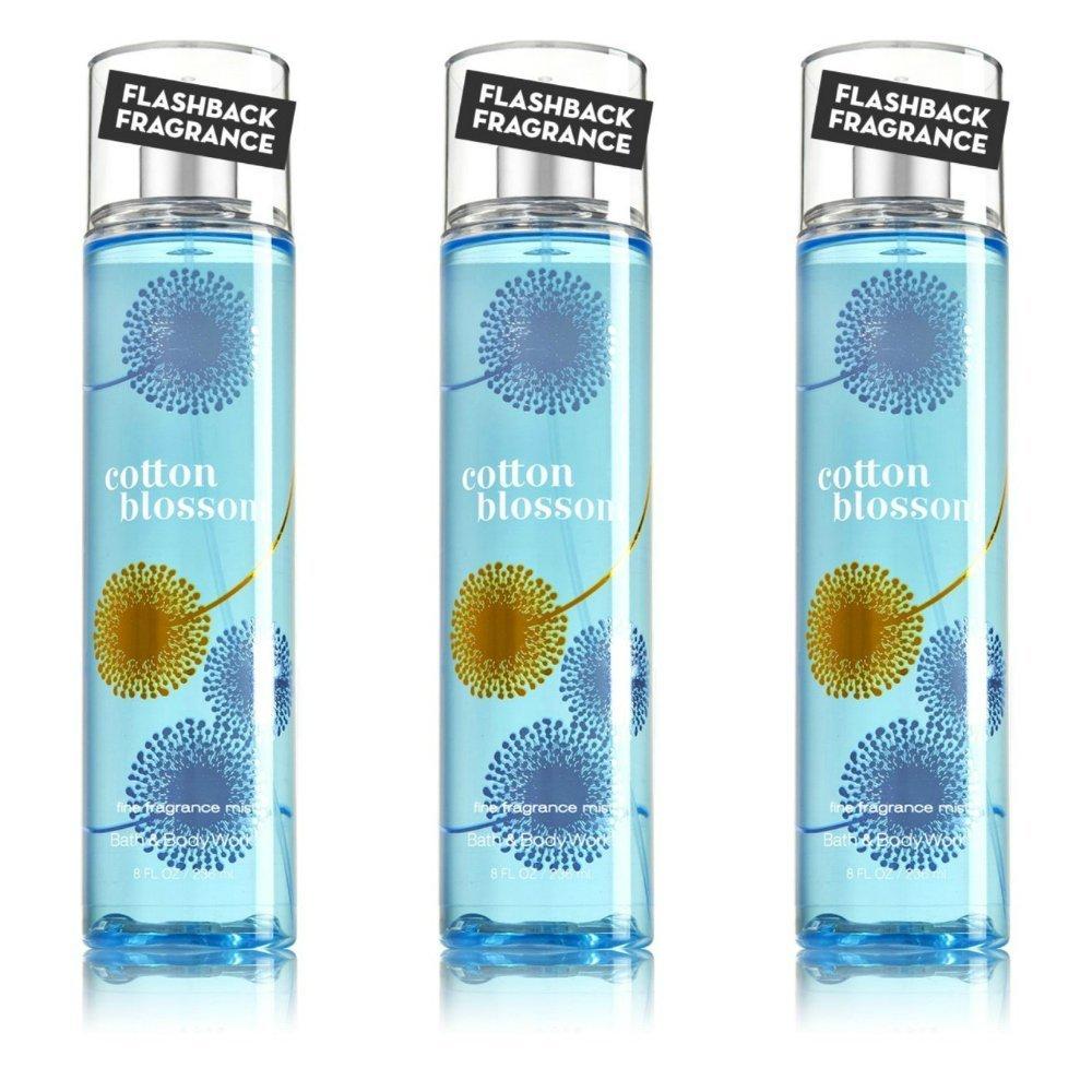 Amazon.com : Bath & Body Works Fine Fragrance Mist Cotton Blossom (3 ...