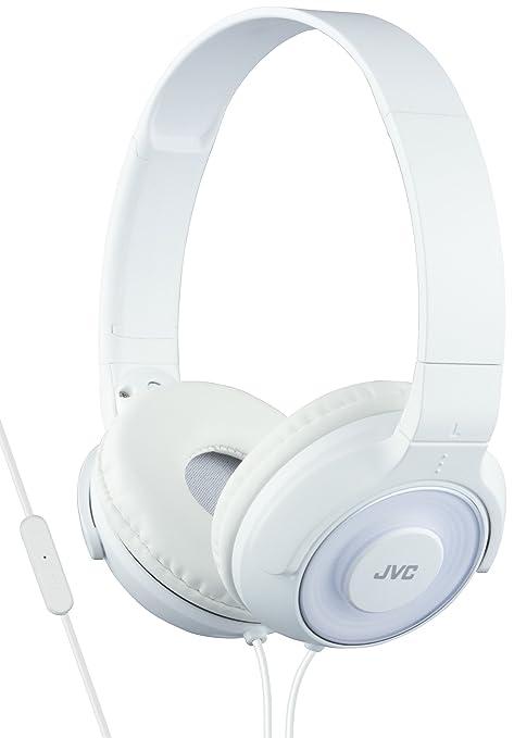 JVC HA-SR225-B-E - Auriculares de diadema cerrados (diseño portátil, control remoto y micrófono, reproducción de sonido superior) negro: Amazon.es: ...