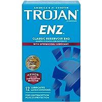 Trojan Condom ENZ Spermicidal