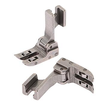 Industrial máquina de coser para Singer Juki de piel rodillo pie PVC de alta vástago SPK-3 prensatelas: Amazon.es: Juguetes y juegos