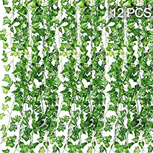 Vienrose Artificial Ivy Garland Fake Plants 100