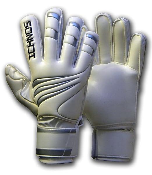 7 opinioni per Ichnos Efis guanti da portiere calcio calcetto con stecche barrette protettive