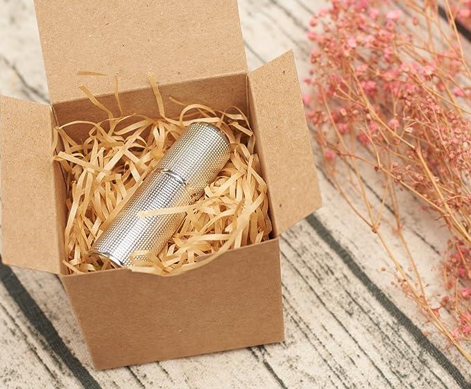 Mesha Kraft cajas 100 unidades 3 x 3 x 3 pulgadas, marrón cartón cajas de regalo con tapa para regalos, manualidades, cajas para cupcakes: Amazon.es: Hogar