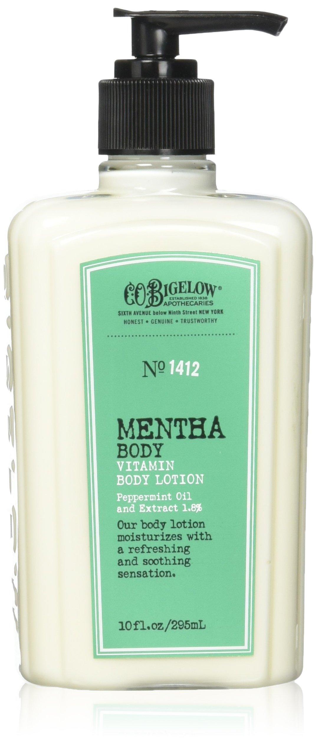 C.O. Bigelow Mentha Vitamin Body Lotion 10 Oz. by C. O. Bigelow
