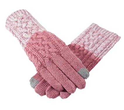 Touchscreen Handschuhe Frau Winter Warm Langer Abschnitt Arm Ärmel ...