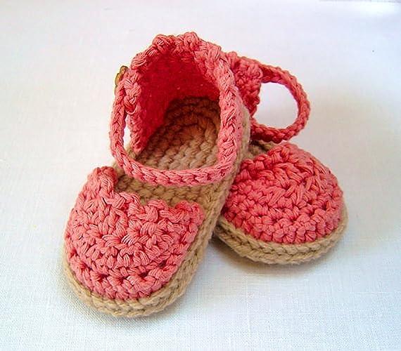 Amazon Crochet Pattern Baby Espadrille Sandals Easy Photo