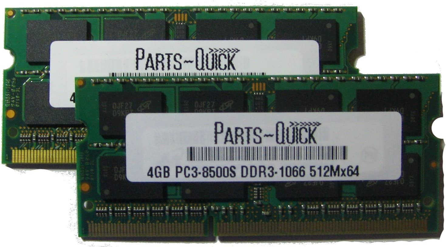 8GB 2x4GB 1066MHz PC3-8500 DDR3 SO-DIMM Memory RAM For Apple MacBook Pro Memory 13