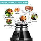 Goplus Garbage Disposal with Power Cord, 1.0HP