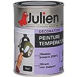 Julien - Peinture températures / Noir mat