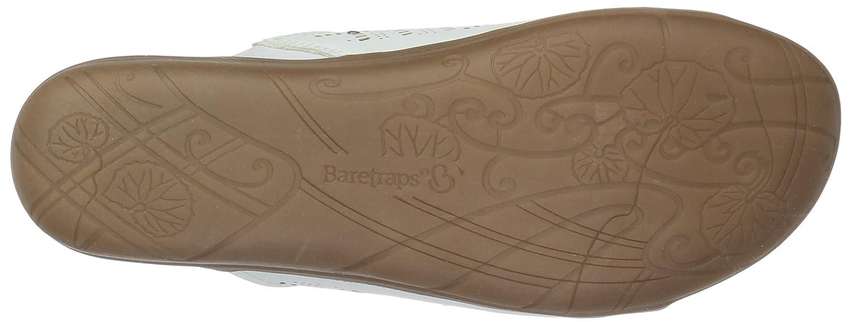 BareTraps Women's B075XX1Y4H Jaylyn Slide Sandal B075XX1Y4H Women's 7.5 B(M) US|White 77ff97