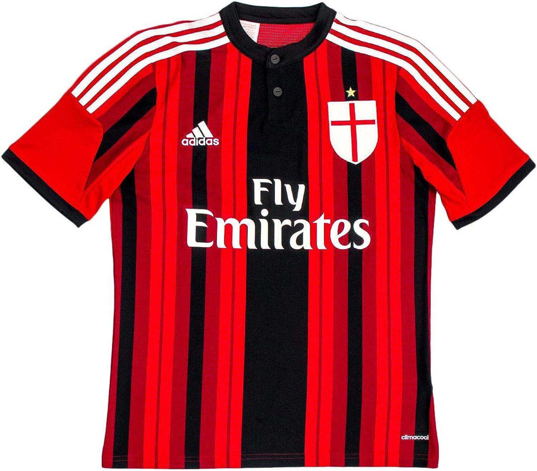 adidas Trikot AC Mailand Replica Spieler-Heim - Camiseta de equipación de fútbol para niño, Color: Amazon.es: Ropa y accesorios