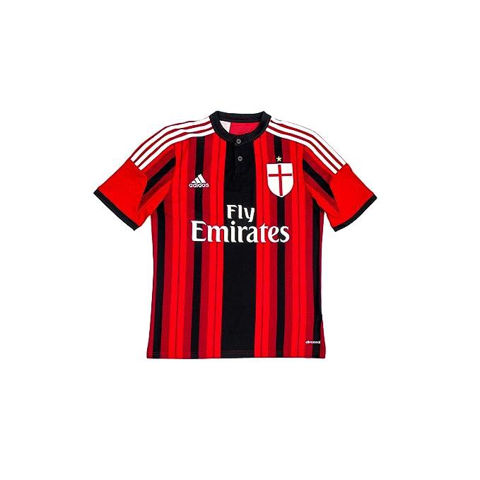 ff90c0c5314e02 MAGLIA JUNIOR CASA M/C ROSSONERO 14/15 Milan Adidas 140 CM ROSSONERO