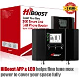 HiBoost 10K Smart Link - Cell Phone Signal Booster - Improves Reception on Phones, Tablets and Hotspots - Cell Booster…