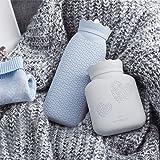 Environmental Silicone Transparent Hot Water Bag